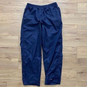 🔹Early 2000s Nylon Zip Sweatpants (Sz XL)